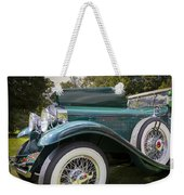 1929 Isotta Fraschini Tipo 8a Convertible Sedan Weekender Tote Bag