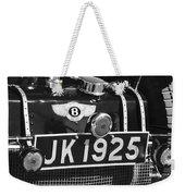 1931 Bentley 4.5 Liter Supercharged Le Mans Taillight Emblem Weekender Tote Bag