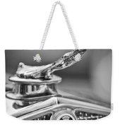 1931 Cadillac 355 Hood Ornament Weekender Tote Bag