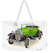 1931 Ford Model A Roadster Weekender Tote Bag