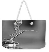 1931 Lasalle Hood Ornament Weekender Tote Bag