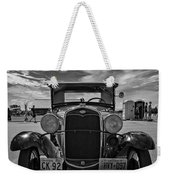1931 Model T Ford Monochrome Weekender Tote Bag