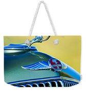 1933 Pontiac Hood Ornament - Emblem Weekender Tote Bag