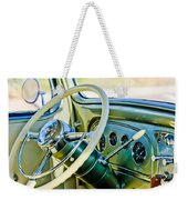 1933 Pontiac Steering Wheel -0463c Weekender Tote Bag
