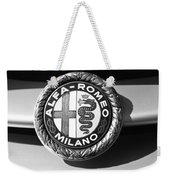 1934 Alfa Romeo 8c Zagato Emblem Weekender Tote Bag