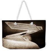 1934 Chevrolet Hood Ornament Weekender Tote Bag