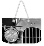 1934 Mg Pa Midget Supercharged Special Speedster Grille Weekender Tote Bag
