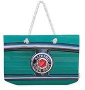 1934 Packard Super 8 Emblem Weekender Tote Bag