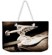 1935 Packard Hood Ornament - Goddess Of Speed Weekender Tote Bag