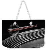 1936 Pontiac Hood Ornament Weekender Tote Bag