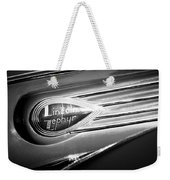 1938 Lincoln Zephyr Emblem Weekender Tote Bag