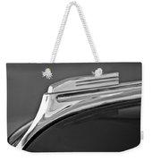 1938 Oldsmobile Rj8 Club Coupe Hood Ornament Weekender Tote Bag