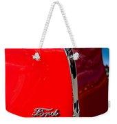 1939 Ford Grille Weekender Tote Bag