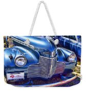 1940 Chevy Grill Weekender Tote Bag