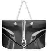 1940 Lincoln Zephyr Grille Emblem - Hood Ornament Weekender Tote Bag