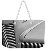 1940 Nash Grille Weekender Tote Bag