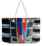 1941 Buick Eight Special Emblem Weekender Tote Bag