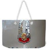 1941 Cadillac Emblem Weekender Tote Bag