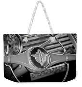 1941 Chevrolet Steering Wheel Emblem Weekender Tote Bag