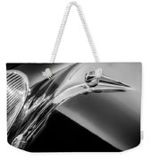 1941 Lincoln Contitnental Convertible Hood Ornament - Grille Emblem -0438bw Weekender Tote Bag