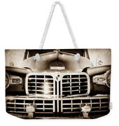 1948 Lincoln Continental Grille Emblem Weekender Tote Bag