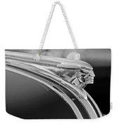 1948 Pontiac Streamliner Woodie Station Wagon Hood Ornament Weekender Tote Bag
