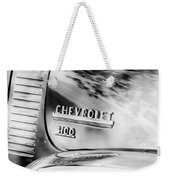 1949 Chevrolet 3100 Pickup Truck Emblem Weekender Tote Bag