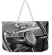1950 Chevrolet 3100 Pickup Truck Steering Wheel Weekender Tote Bag