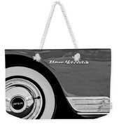 1950 Chrysler New Yorker Coupe Wheel Emblem Weekender Tote Bag
