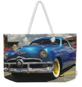 1950 Ford Automobile Weekender Tote Bag