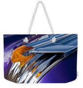 1950 Pontiac Hood Ornament Weekender Tote Bag