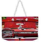 1950s Chevrolet Impala Detail Weekender Tote Bag