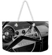 1951 Ford Crestliner Steering Wheel Weekender Tote Bag by Jill Reger