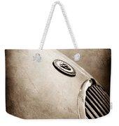 1951 Jaguar Grille Emblem Weekender Tote Bag