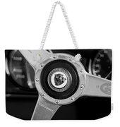 1951 Jaguar Steering Wheel Emblem Weekender Tote Bag