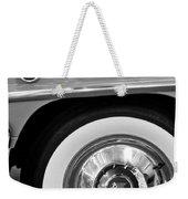 1951 Mercury Montclair Convertible Wheel Emblem Weekender Tote Bag