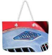 1952 Frazer-nash Le Mans Replica Mkii Competition Model Grille Emblem Weekender Tote Bag