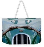 1952 Jaguar Xk 120 John May Speciale Grille Emblem Weekender Tote Bag