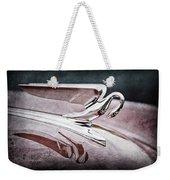 1952 Packard 400 Hood Ornament Weekender Tote Bag