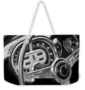1953 Fiat 8v Ghia Supersonic Steering Wheel Weekender Tote Bag