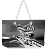 1953 Morgan Plus 4 Le Mans Tt Special Hood Ornament Weekender Tote Bag