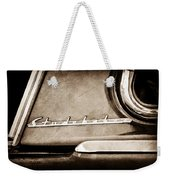 1953 Studebaker Champion Starliner Side Emblem Weekender Tote Bag