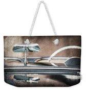 1954 Chevrolet Corvette Rearview Mirror Weekender Tote Bag