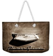 1954 Chevrolet Power Glide Emblem Weekender Tote Bag