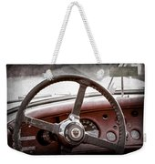 1954 Jaguar Xk120 Roadster Steering Wheel Emblem Weekender Tote Bag