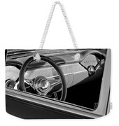 1955 Chevrolet 210 Steering Wheel Weekender Tote Bag