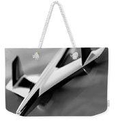 1955 Chevrolet Belair Nomad Hood Ornament Weekender Tote Bag by Jill Reger