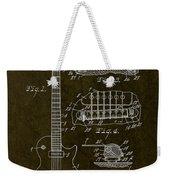 1955 Gibson Les Paul Patent Drawing Weekender Tote Bag