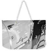 1955 Pontiac Safari Station Wagon Emblem Weekender Tote Bag