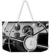 1955 Studebaker President Steering Wheel Emblem Weekender Tote Bag by Jill Reger
